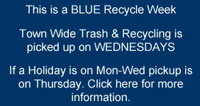 Recycling Week Information